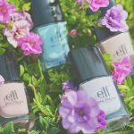 ELF Nail Polish Nude, Mint Cream, Lilac & Desert Haze