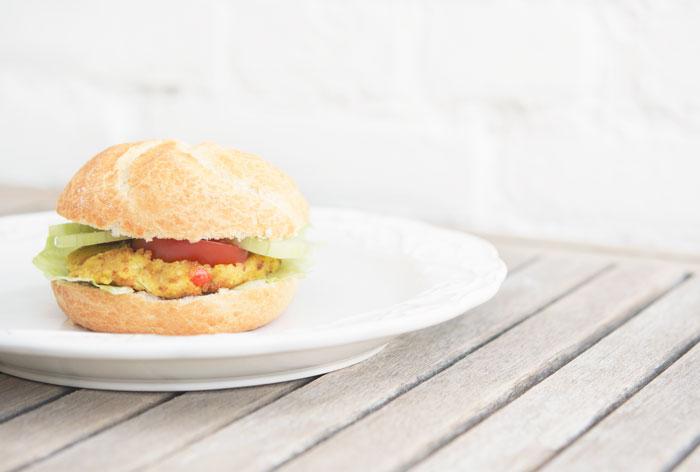 My Favorite & the Best Vegan Burger Recipe!